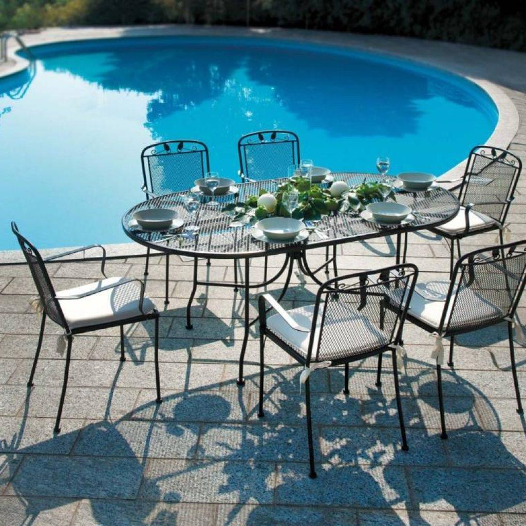 Arredo giardino e terrazzo mobili da esterno e for Arredo giardino ferro battuto